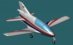 Digital Aircraft Modeler BEDE BD-5J